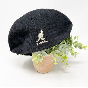 Kangol Tropic 7100 Cap In Black Vintage